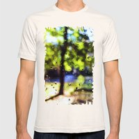 After the rain Mens Fitted Tee Natural SMALL