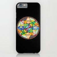 iPhone & iPod Case featuring Mandala: Soul Mates by Jeannette Stutzman