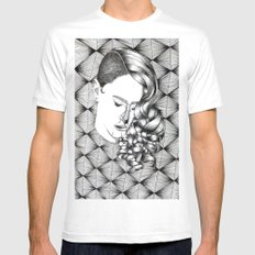 Punk is K.O. White Mens Fitted Tee SMALL