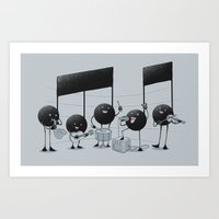 The Entertainer Art Print