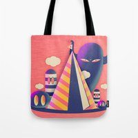 Temple Haze Tote Bag