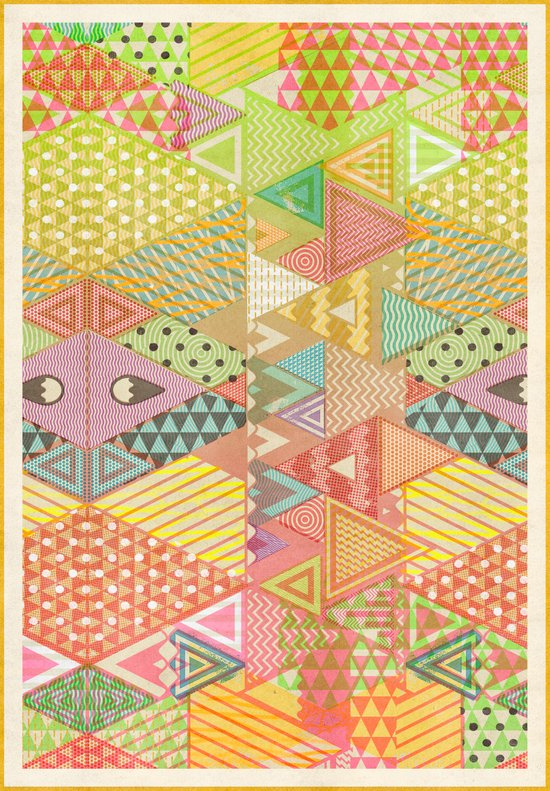 A FARCE / PATTERN SERIES 003 Art Print