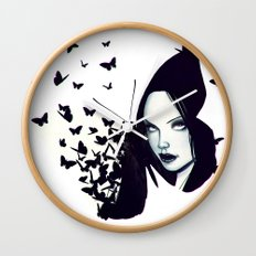 Butterflies 2.0 Wall Clock