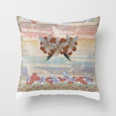 Lily Rose Throw Pillow
