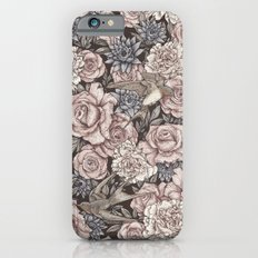 Flowers & Swallows Slim Case iPhone 6s