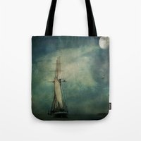 Sail Away Into The Night Tote Bag