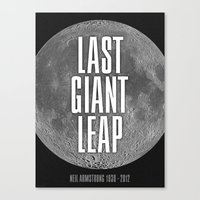 Last Giant Leap Canvas Print
