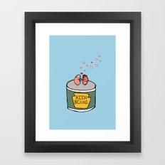 Keen Beans Framed Art Print