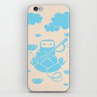 Lotus&Guitar iPhone & iPod Skin
