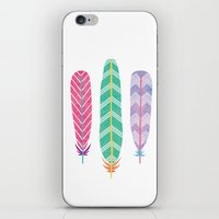 Feather Collage iPhone & iPod Skin