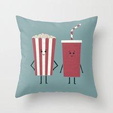 Movie Time Throw Pillow