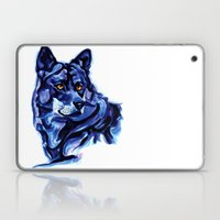 Blue Wolf Laptop & iPad Skin