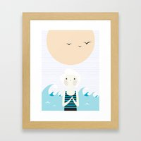 Sunny Age. Framed Art Print