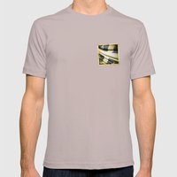 Quebec (Canada) grunge sticker flag Mens Fitted Tee Cinder SMALL