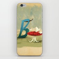 Time For Tea With Letter… iPhone & iPod Skin