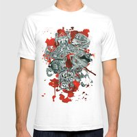The Seven Deadly Sins Mens Fitted Tee White SMALL