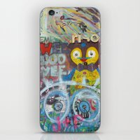 Graffiti Love iPhone & iPod Skin