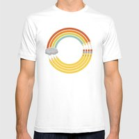 The Infinite Doodle Mens Fitted Tee White SMALL