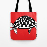 Checkershell Tote Bag