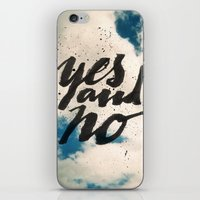 Yes and No iPhone & iPod Skin