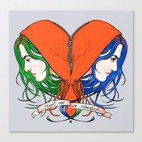 Clementine's Heart Canvas Print