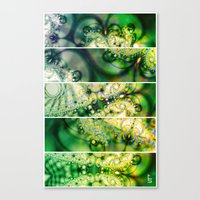Emerald Universe (Five P… Canvas Print