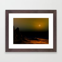 Watchers Framed Art Print
