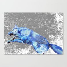 Wolf Pack Sans Pack Canvas Print
