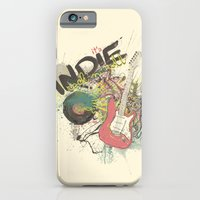 iPhone & iPod Case featuring It's Indie Rock'n'Roll by Denise Esposito