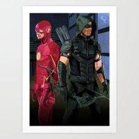 Fastest Arrow Art Print