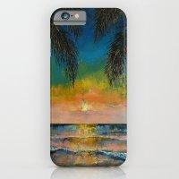 Tropical Sunset iPhone 6 Slim Case