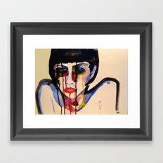 BL INK 3 Framed Art Print