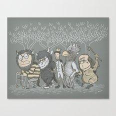 The Mild Rumpus Canvas Print