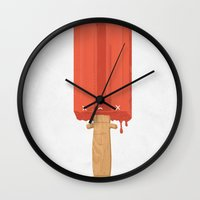 Ice Cold Killer Wall Clock