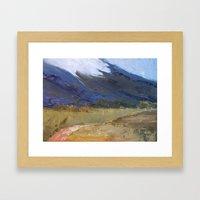 Rolling Storms Framed Art Print