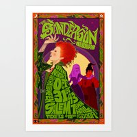 The Sanderson Sister Liv… Art Print