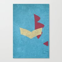 Totodile Canvas Print