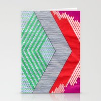 Isometric Harlequin #8 Stationery Cards