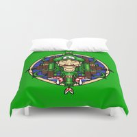 Luigi's Lament Duvet Cover