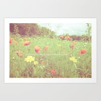 A life without love is like a year without summer.  Art Print