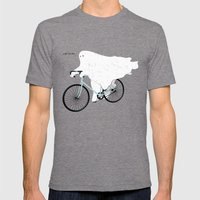 Negative Ghostrider G Mens Fitted Tee Tri-Grey SMALL