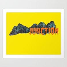 Con Art Print