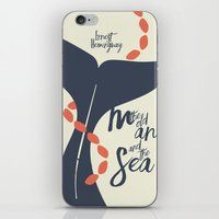 The Old Man And The Sea … iPhone & iPod Skin