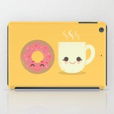 Coffee And Donut Buds iPad Case