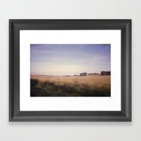 The Drive By Framed Art Print