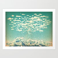 Where The Clouds Are Bor… Art Print