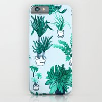 Houseplants All Over The Place iPhone 6 Slim Case