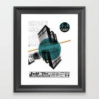 Jeff The BortherHood And… Framed Art Print
