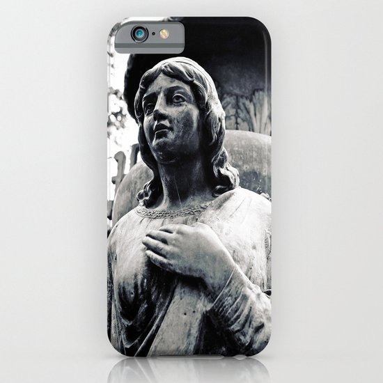Hand on her heart iPhone & iPod Case