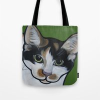Callie The Calico Tote Bag